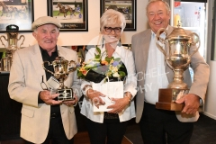 JIMMY & ANNE GIBBS WITH JaOHN STREET - LINCOLN FARMS BLOODSTOCK FRANKLIN CUP - RACE IMAGES PHOTO PETER RUBERY
